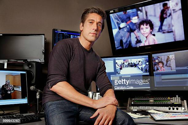 News anchor David Muir is photographed for Los Angeles Times on September 2 2016 in New York City PUBLISHED IMAGE CREDIT MUST READ Carolyn Cole/Los...