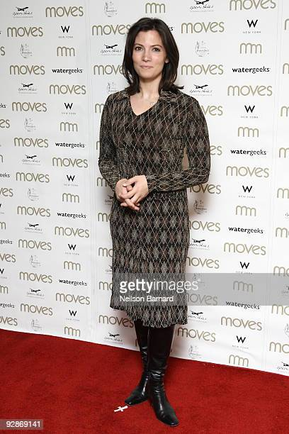 News anchor Deirdre Bolton attends the 6th annual Moves Power Women awards at the W New York on November 6, 2009 in New York City.