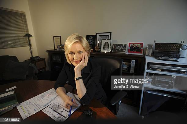 News Anchor Diane Sawyer is photographed for the Washington Post