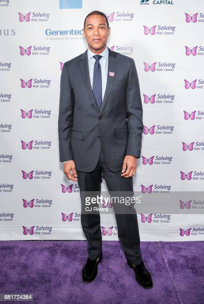 CNN news anchor Don Lemon attends Solving Kids' Cancer Spring Celebration 10 Years of Hope and Healing at Mandarin Oriental New York on May 10 2017...