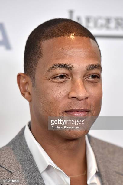News Anchor Don Lemon attends the 43rd Chaplin Award Gala on April 25 2016 in New York City