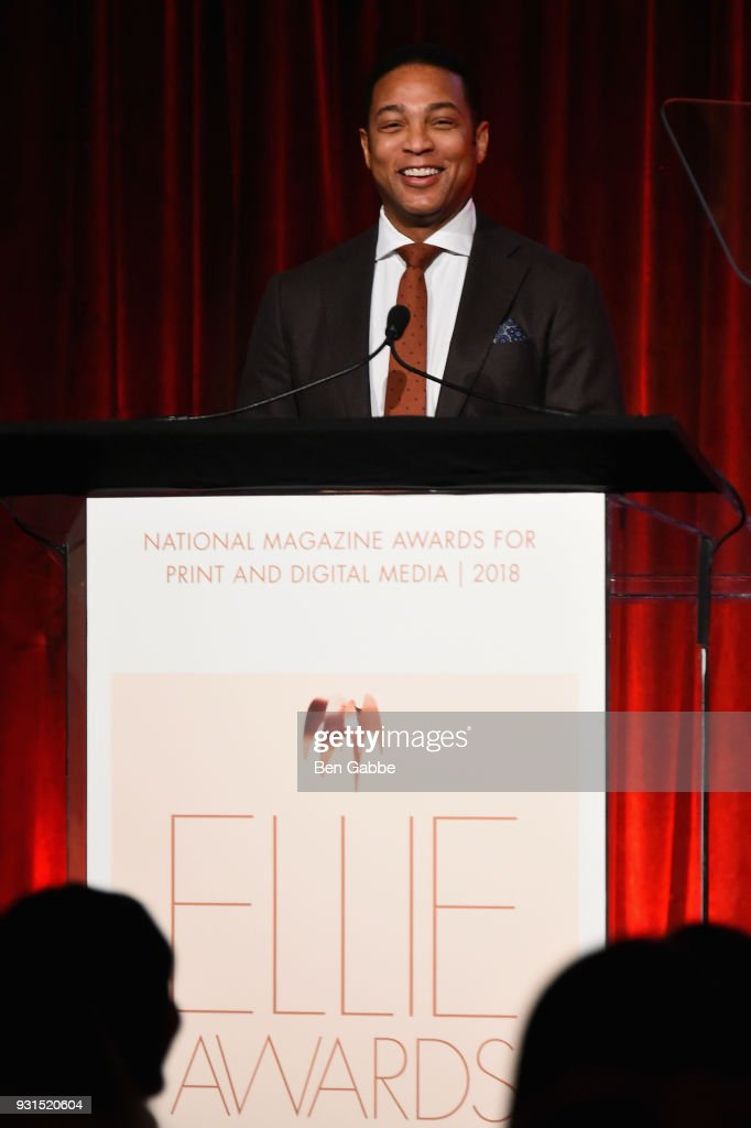 News anchor Don Lemon hosts the Ellie Awards 2018 on March 13, 2018 in New York City.