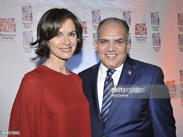 News Anchor Elizabeth Vargas and Samaritan Daytop Village CEO President Tino Hernandez attend the 2016 Samaritan Daytop Foundation Gala at Tribeca...
