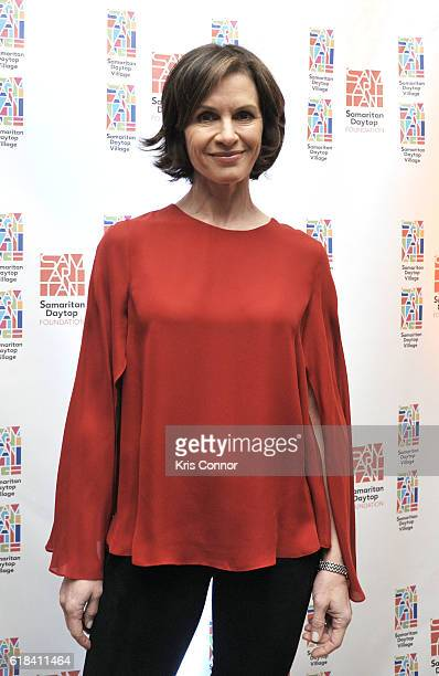 News Anchor Elizabeth Vargas attends the 2016 Samaritan Daytop Foundation Gala at Tribeca Rooftop on October 26 2016 in New York City