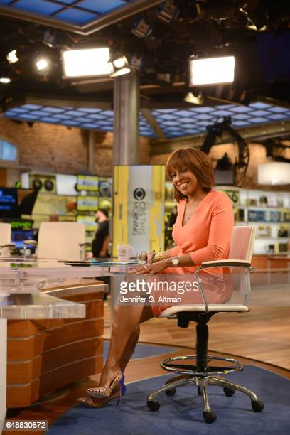 News anchor Gayle King is photographed for Los Angeles Times on December 15 2016 in New York City