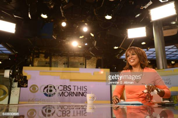 News anchor Gayle King is photographed for Los Angeles Times on December 15 2016 in New York City PUBLISHED IMAGE
