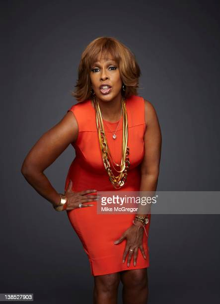 News anchor Gayle King is photographed for Parade Magazine on December 2 2011 in New York City
