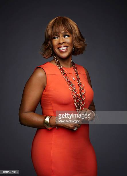 News anchor Gayle King is photographed for Parade Magazine on December 2 2011 in New York City COVER IMAGE