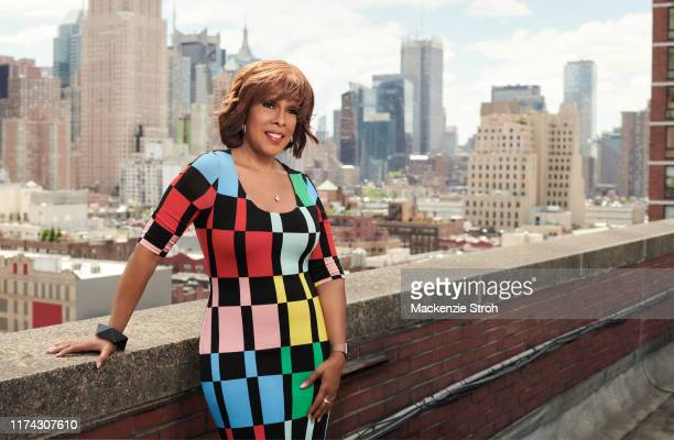 News anchor Gayle King is photographed for The Hollywood Reporter on May 24 2019 in New York City COVER IMAGE