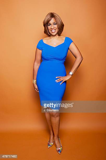 News anchor Gayle King poses for a portrait at the American Black Film Festival on June 12 2015 in New York City