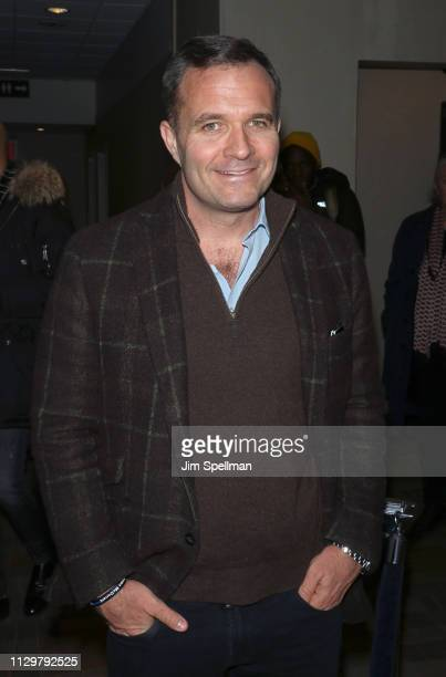 News anchor Greg Kelly attends the special screening of Mapplethorpe hosted by Samuel Goldwyn Films with The Cinema Society at Cinepolis Chelsea on...