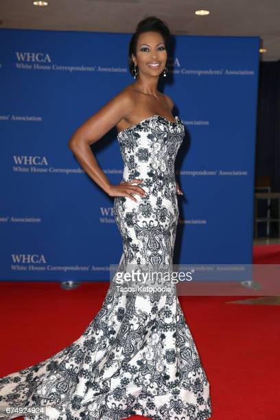 News anchor Harris Faulkner attends the 2017 White House Correspondents' Association Dinner at Washington Hilton on April 29 2017 in Washington DC