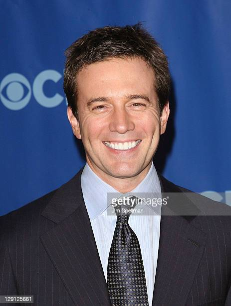 CBS News Anchor Jeff Glor attends the 2011 CBS Upfront at The Tent at Lincoln Center on May 18 2011 in New York City