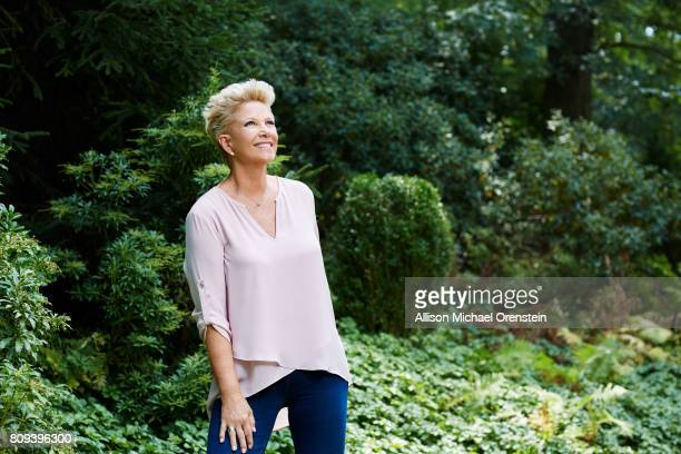 News anchor Joan Lunden is photographed for People Magazine on August 31 2015 in Greenwich Connecticut