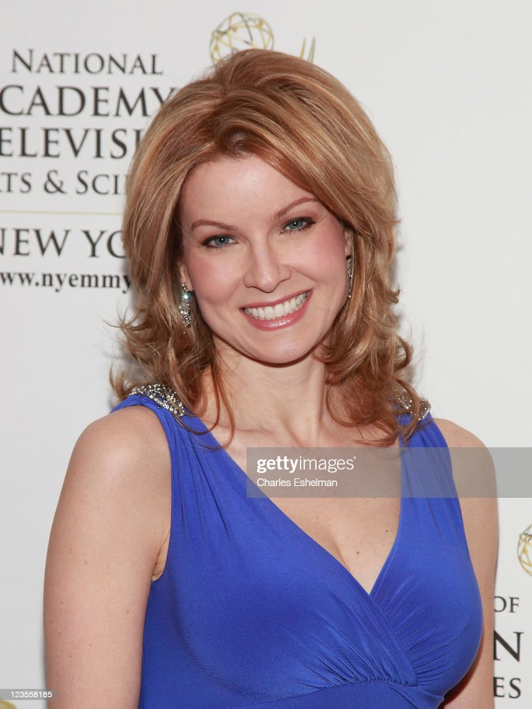 TV news anchor Jodi Applegate attends the 54th Annual New