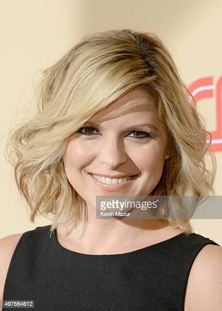 News Anchor Kate Bolduan attends CNN Heroes 2015 Red Carpet Arrivals at American Museum of Natural History on November 17 2015 in New York City...