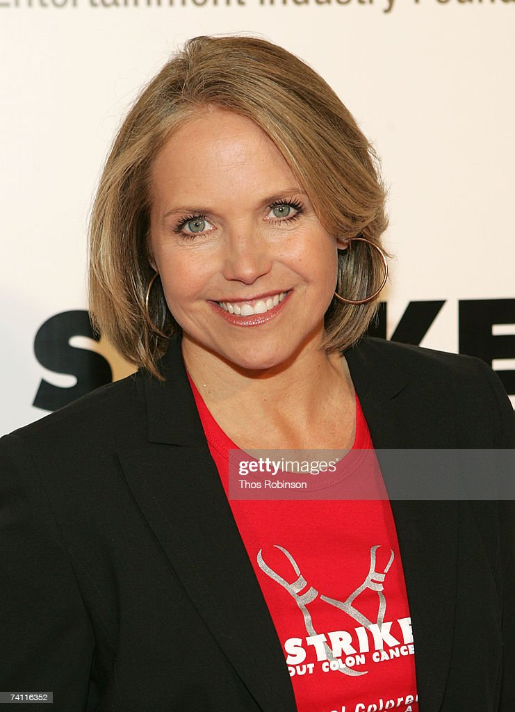 Cbs News Anchor Katie Couric Hosts The Bowl To Strike Out Colon News Photo Getty Images