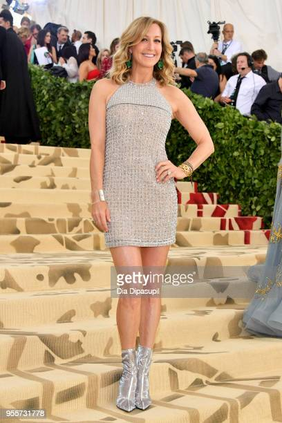News anchor Lara Spencer attends the Heavenly Bodies Fashion The Catholic Imagination Costume Institute Gala at The Metropolitan Museum of Art on May...