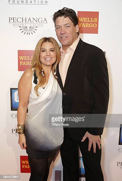 News Anchor Liz Habbib and Charlie Whittaker attend the Good News Foundation's Feel Good event of the year honoring Maria Shriver with the Lifetime...
