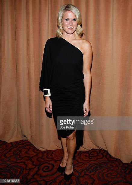 News anchor Martha MacCallum attends the 5th Important Dinner for Women at Mandarin Oriental Hotel on September 20 2010 in New York City