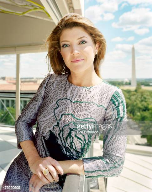 News anchor Norah O'Donnell is photographed for More Magazine on June 24 2012 in Washington DC PUBLISHED IMAGE