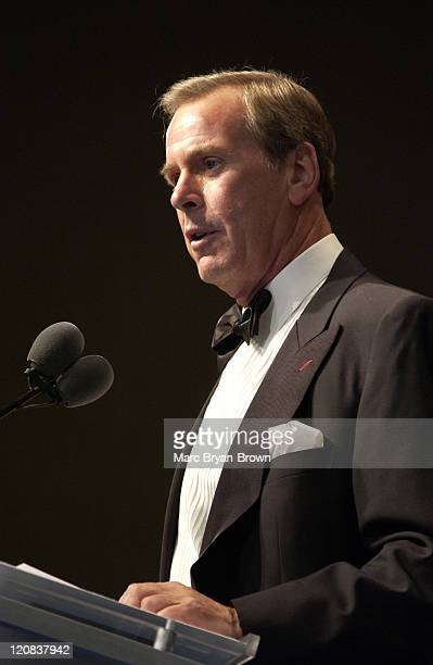 ABC News Anchor Peter Jennings during 25th Annual NATAS News and Documentary Emmys 2004 Honoring Tom Brokaw at Mariott Marquis Hotel NY in New York...