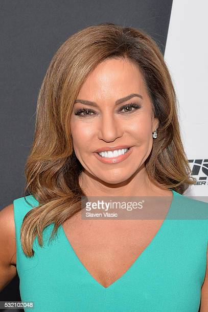 News anchor Robin Meade attends the Turner Upfront 2016 at Nick Stef's Steakhouse on May 18 2016 in New York City