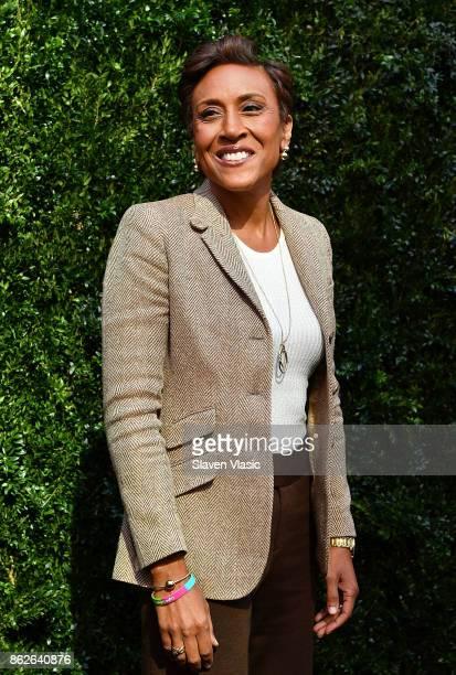 News anchor Robin Roberts attends Through Her Lens The Tribeca Chanel Women's Filmmaker Program Luncheon at Locanda Verde on October 17 2017 in New...