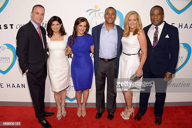 News anchor Scott Stanford news anchor and presenter Tamsen Fadal journalist Teresa Priolo meteorologist Mike Woods TV personality and presenter Alex...