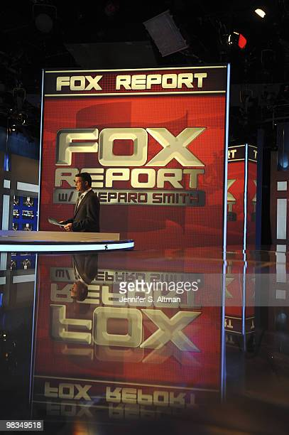 News Anchor Shepard Smith is photographed for the Washington Post