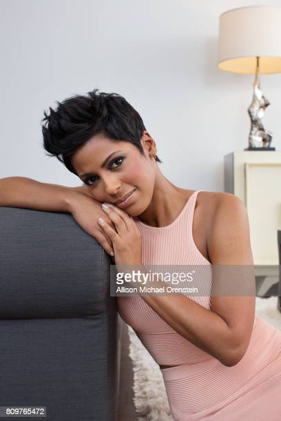 News anchor Tamron Hall is photographed for People Magazine on March 3 2016 in New York City PUBLISHED IMAGE