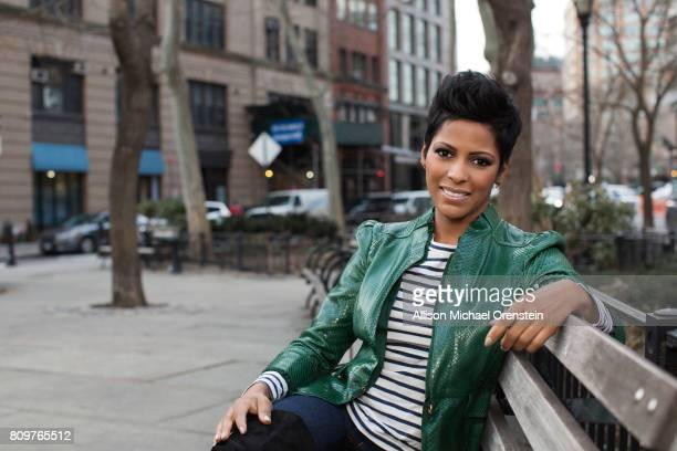 News anchor Tamron Hall is photographed for People Magazine on March 3 2016 in New York City COVER IMAGE