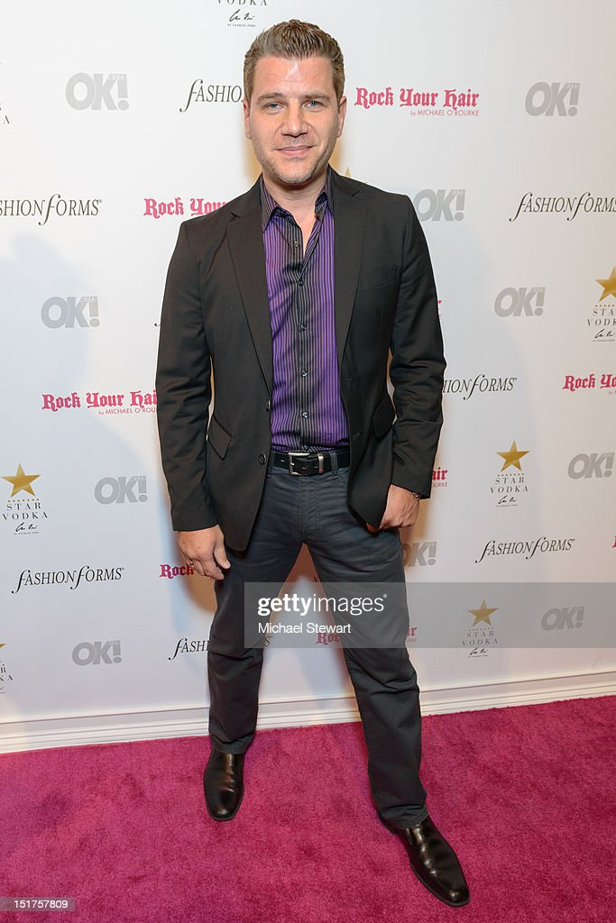 News anchor Tom Murro attends the OK! Magazine Fashion Week Party at Cielo on September 10, 2012 in New York City.
