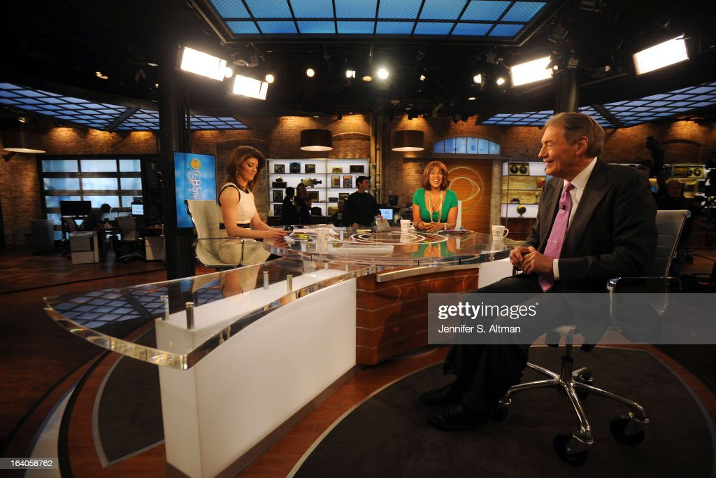News anchors Charlie Rose, Gayle King and Norah O'Donnell are photographed for Los Angeles Times on January 29, 2013 in New York City. PUBLISHED