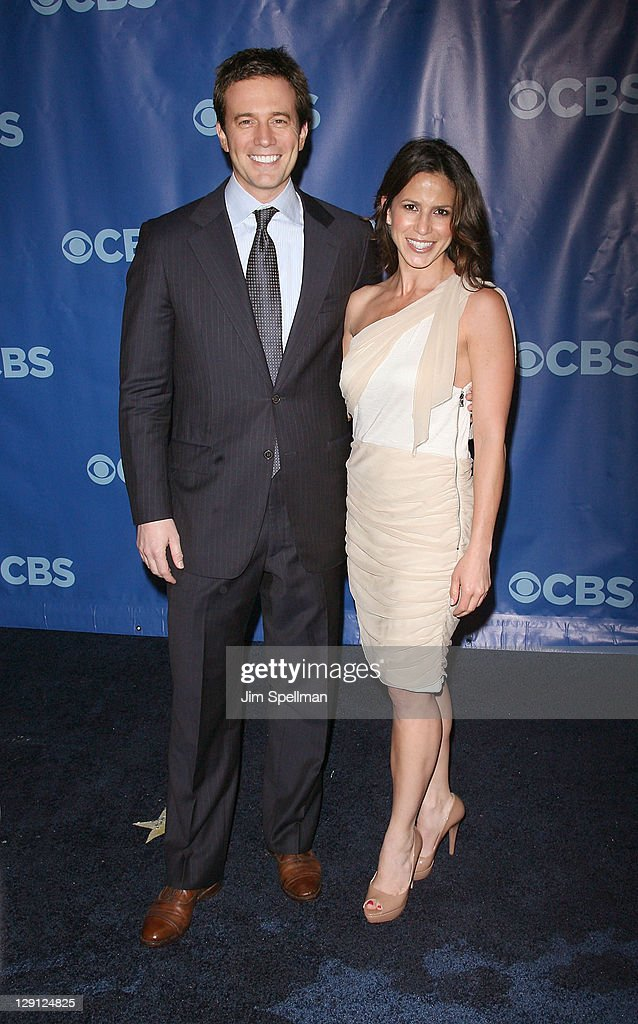 CBS News Anchors Jeff Glor and Marysol Castro attend the