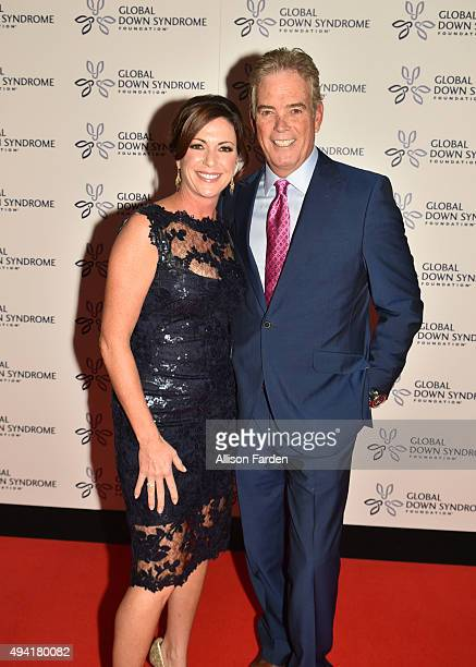 News Anchors Kyra Phillips and John Roberts arrive for the 2015 Be Beautiful Be Yourself Global Down Syndrome Foundation Fundraiser at Colorado...