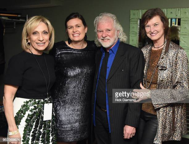 NBC News Andrea Mitchell White House Press Secretary Sarah Huckabee Sanders Host/Rolling Stones Keyboardist Chuck Leavell and Rolling Stones Wardrobe...