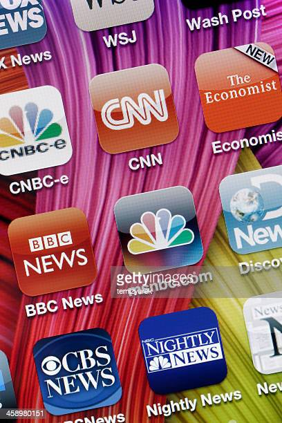 News Applications on Iphone 4