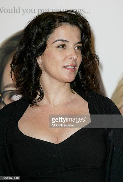 NBC News 'Baby Mama' New York Premiere Pictured Actress Annabella Sciorra attends the premiere of the Universal Movie 'Baby Mama' at the opening of...