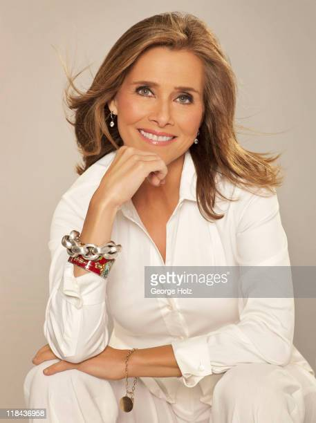 News caster Meredith Vieira is photographed for People Magazine on May 20 2011 in New York City COVER IMAGE
