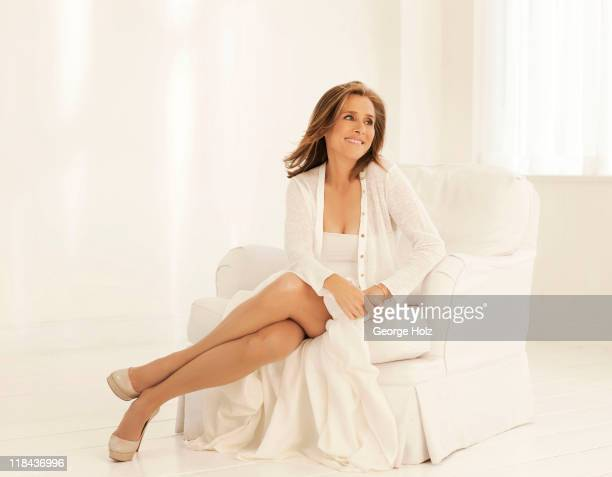 News caster Meredith Vieira is photographed for People Magazine on May 20 2011 in New York City PUBLISHED IMAGE