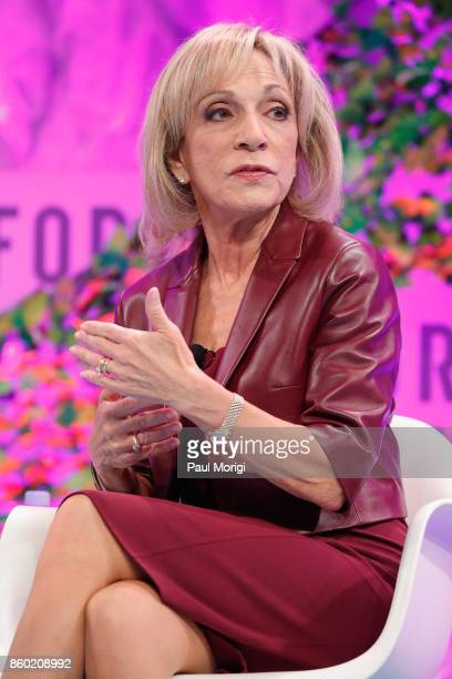 News Cheif Foreign Affairs Correspondent Andrea Mitchell speaks onstage at the Fortune Most Powerful Women Summit Day 3 on October 11 2017 in...