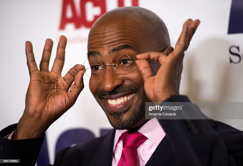 News commentator Van Jones arrives at ACLU SoCal's Annual Bill of Rights Dinner at the Beverly Wilshire Four Seasons Hotel on December 3, 2017 in Beverly Hills, California.