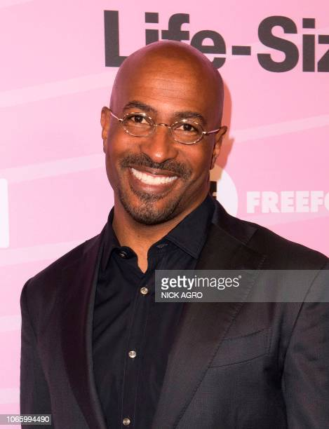 News commentator Van Jones arrives for the world premiere of 'LifeSize 2' on November 27 2018 at The Hollywood Roosevelt hotel in Hollywood California