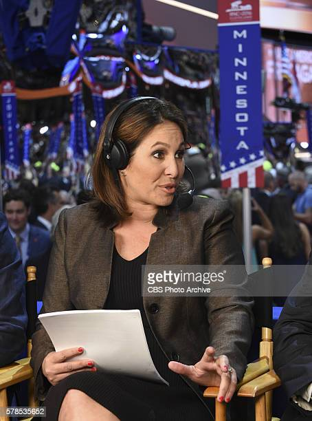 News Congressional Correspondent Nancy Cordes reports from the 2016 Republican National Convention in Cleveland Ohio on Wednesday July 20 2016
