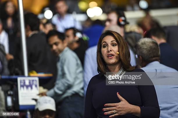 CBS News Congressional Correspondent Nancy Cordes reports from the Democratic National Convention on July 26 2016 in Philadelphia Pennsylvania