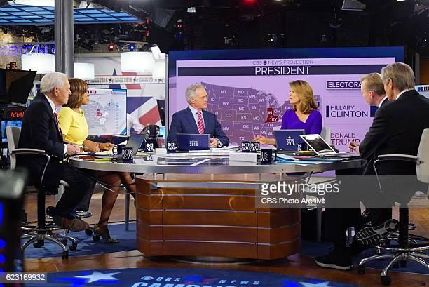 News Contributor Bob Schieffer, CBS THIS MORNING Co-Host Gayle King, CBS EVENING NEWS Anchor Scott Pelley, CBS THIS MORNING Co-Host Norah O'Donnell,...