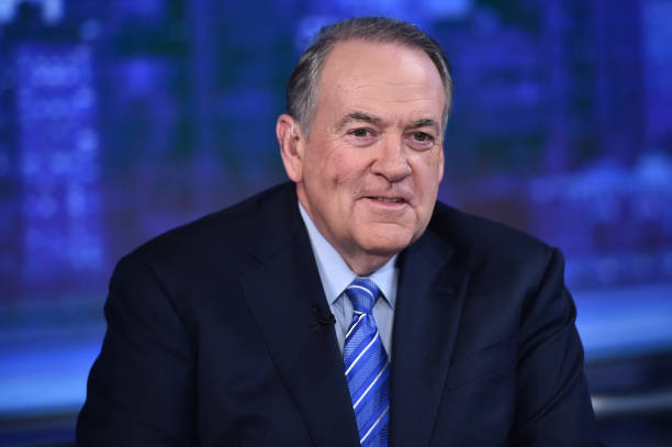 "NY: Mike Huckabee And Sarah Huckabee Sanders Visits ""The Story With Martha MacCallum"""
