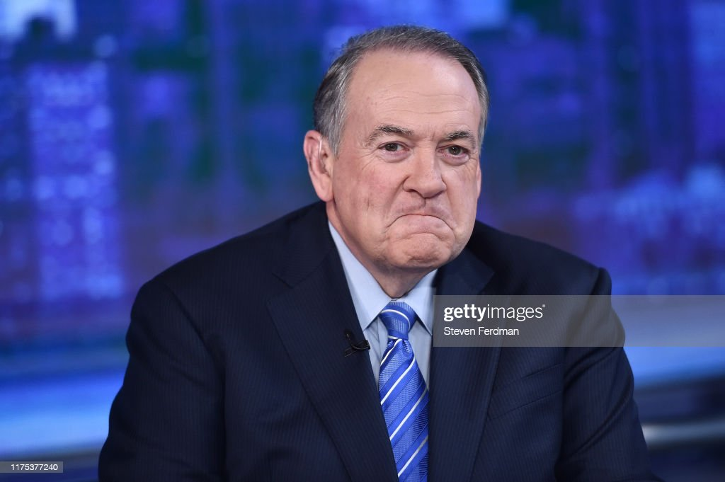 "Mike Huckabee And Sarah Huckabee Sanders Visits ""The Story With Martha MacCallum"" : News Photo"