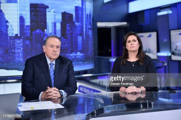 FOX News Contributors Gov Mike Huckabee and his daughter Sarah Huckabee Sanders visit The Story with Martha MacCallum in their first joint interview...